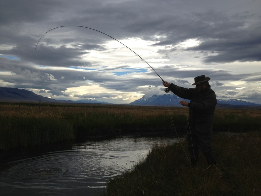Fly Fishing Puerto Natales Chile